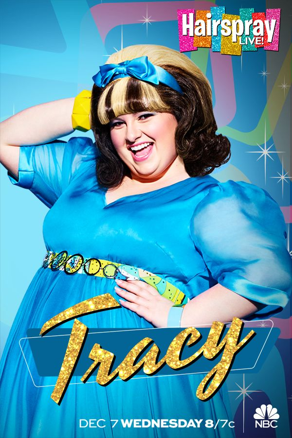 Dreams really do come true. Just ask Maddie Baillio, playing Tracy in Hairspray Live! on NBC, December 7 at 8/7c.