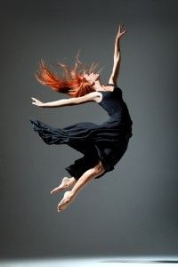 the dancer in the air