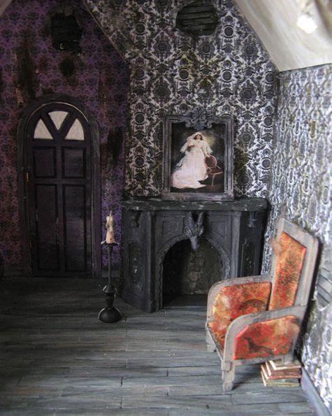 les 25 meilleures id es de la cat gorie accessoires maison hant e sur pinterest monstre boue. Black Bedroom Furniture Sets. Home Design Ideas