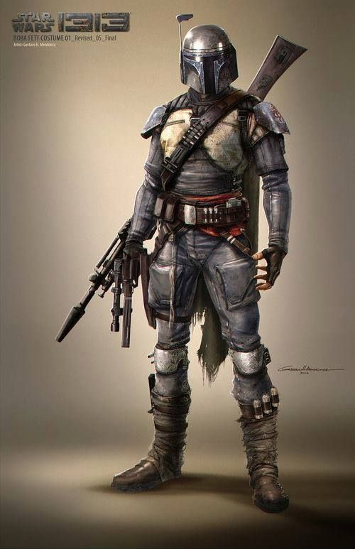 """Lolz to the wallz... Disney came in and saw this 60% complete game starring Boba Fett and thought, """"Nobody would buy this! This is stupid -- Scrap it!"""" I hate you, Disney..."""