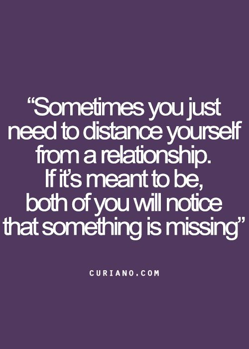 Sometimes you both just take different paths and that's okay