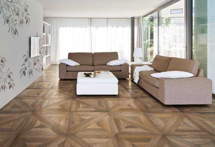 Iperceramica pavimento in gres effetto legno a cassettoni ceramiche home decor flooring e - Pavimento bagno effetto legno ...