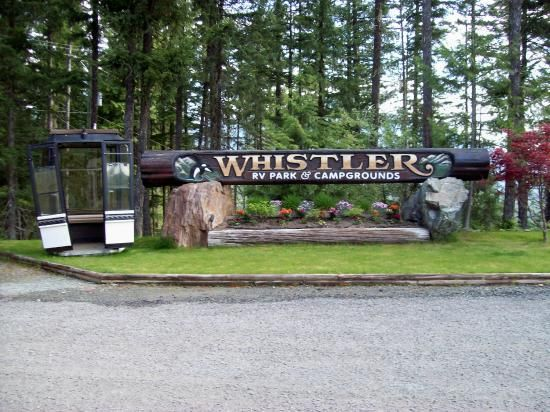 Whistler RV Park Campgrounds Beautiful Display At Campsite Grounds Visit The Best Places In America To Go Camping Reserveamericac