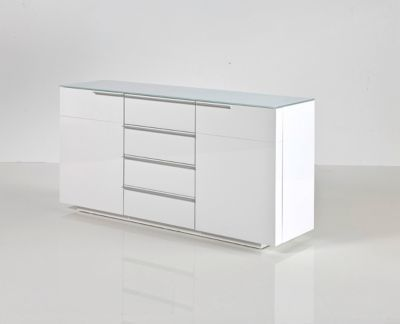 Sideboard weiss Hochglanz lackiert Jetzt bestellen unter: https://moebel.ladendirekt.de/wohnzimmer/schraenke/sideboards/?uid=d3ac8813-2eaf-579d-828a-ead4ba7d0136&utm_source=pinterest&utm_medium=pin&utm_campaign=boards #schraenke #wohnzimmer #sideboards