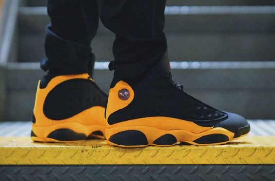 4df5d89bfe1 On-Feet Images Of The Air Jordan 13 Carmelo Anthony Class of 2002 ...