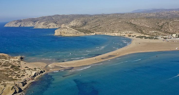 Prasonisi Beach Rhodes, Greece