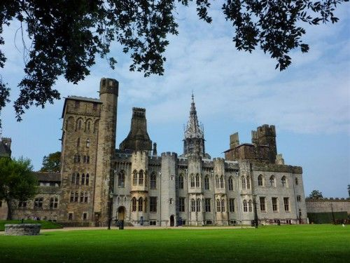 Cardiff Castle ~ Cardiff City Centre, South Glamorgan, Wales....