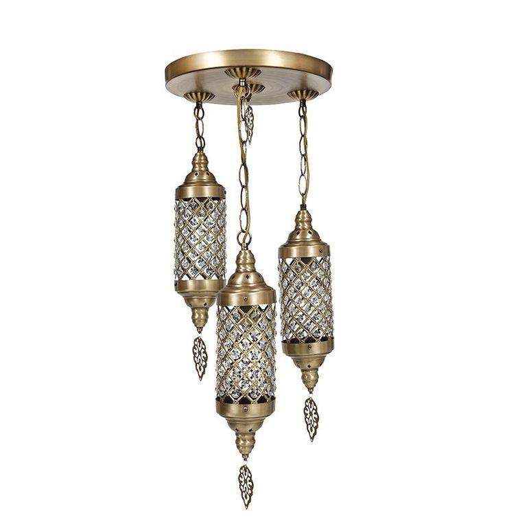 Transformă-ţi casa într-un mic Orient, o lume a Sherezadei, a celor multe mii de nopţi :) http://sharihome.ro/campanie/world-of-lamps/lustra-tana-cu-3-corpuri-aspect-bronz.html