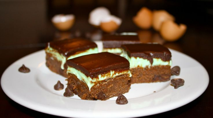 Mint Chocolate Brownies | Basil & Rye | Sugar | Pinterest
