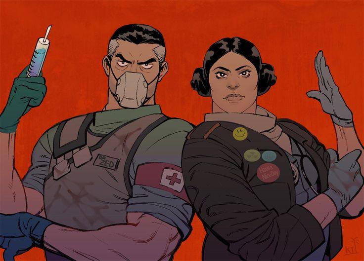 Borderlands 2 Dr Zed and Nina