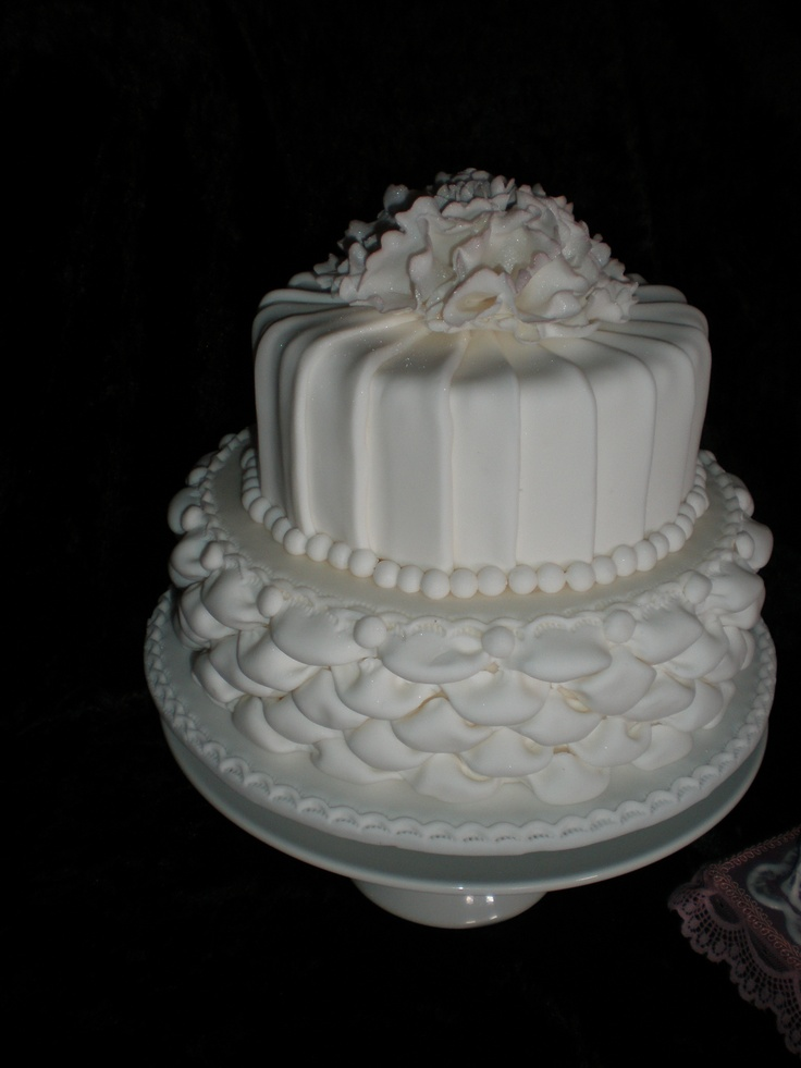 Pleated Wedding Cake Tutorial
