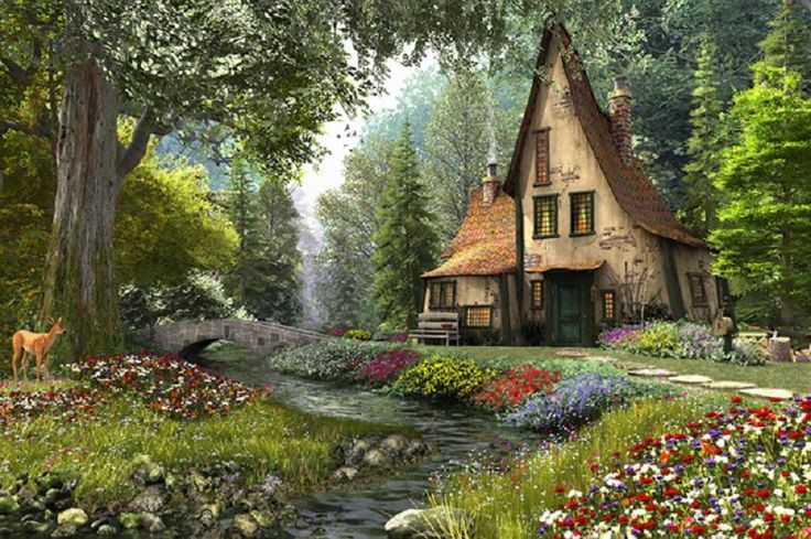 Staff Picks - Pixdaus | Toadstool cottage.... By: PictureGirl