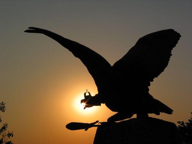 Tatabánya, Turul bird