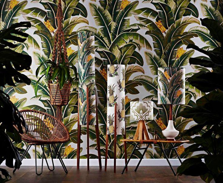 Lamps by Retro Print Revival at Enrich Interiors in Seddon