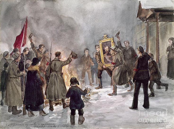 Russian Revolution, 1917.
