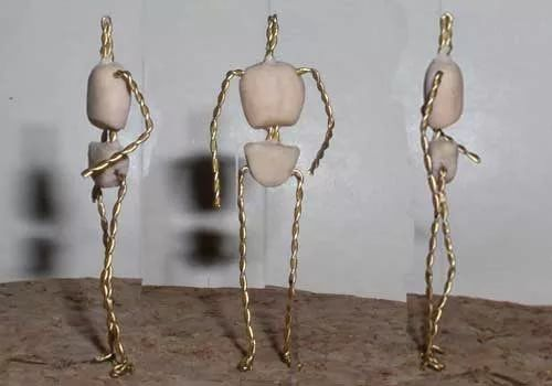 схема проволочного каркаса для куклы с фото просто украшения, каждое