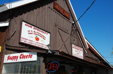 Lakeside Farms, Ballston Lake NY  ...Best Cider Donuts...