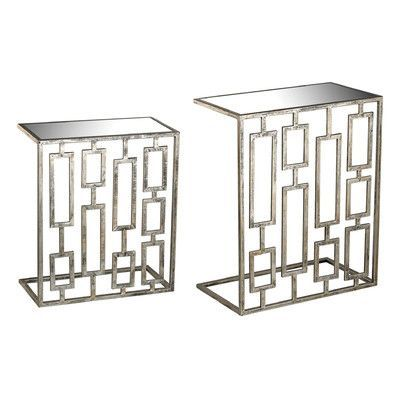 Mercer41 Tetris 2 Piece Nesting Tables