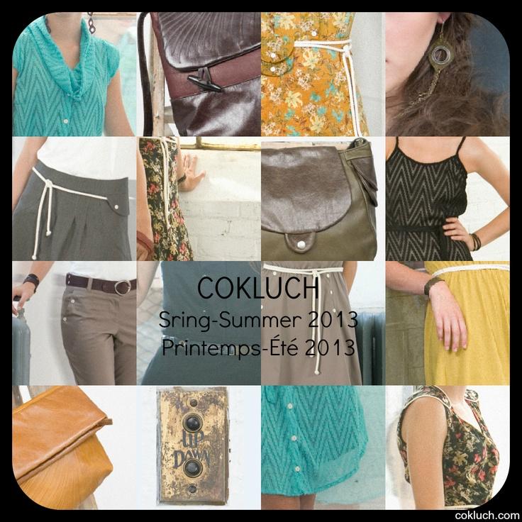 Cokluch   Designer de mode à Montréal Cokluch Printemps Été / Spring Summer 2013 cokluch.com