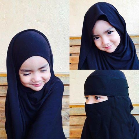 Muslimah children