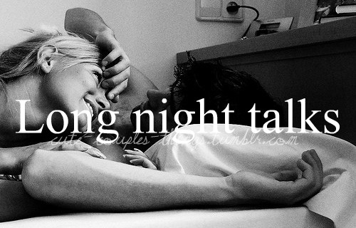 We stay on the phone all night :)