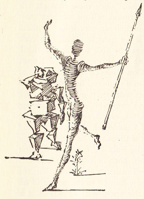 Dom Quixote ilustrado por Salvador Dalí http://www.ideafixa.com/dom-quixote-ilustrado-por-salvador-dali/