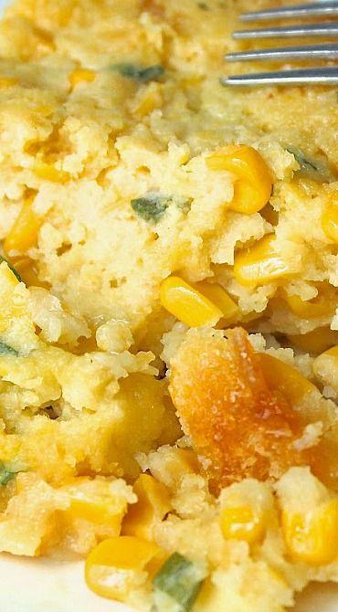 Slow Cooker Corn Souffle
