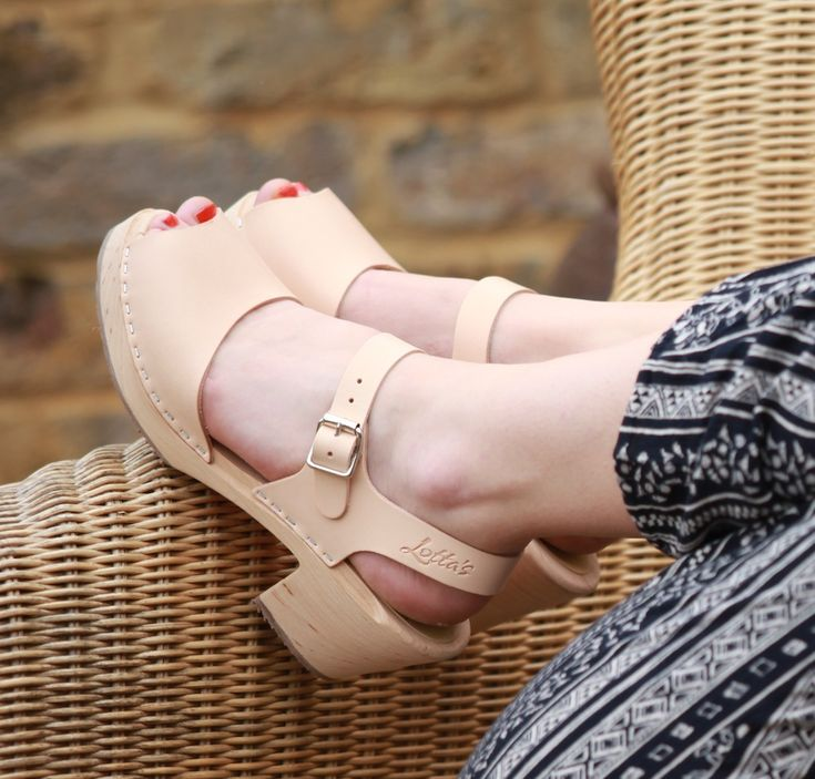 hello! I apologise for taking so long to write this, a lot of you have asked how to look after your natural leather clogs. The natural leather is untreated and not dyed, therefore it is sensitive to dirt and moisture.
