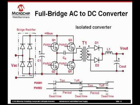 Switched Mode Power Supply Using dsPIC - YouTube