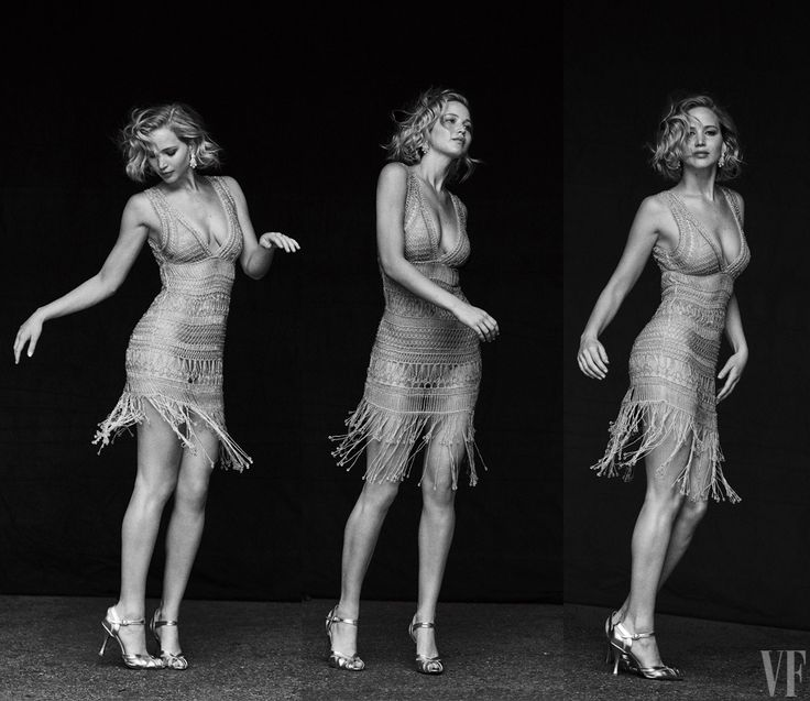The Vanity Fair Cover Shoot: Jennifer Lawrence, Star without a Script