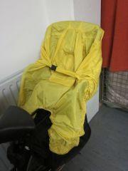rain bow Regenschutz für den Kinder-Fahrradsitz