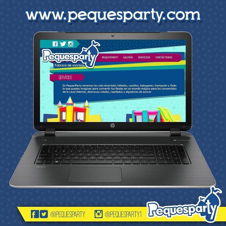 Visita nuestro sitio #weby y comprueba nuestra calidad en servicios.  PequesParty Fábrica de Sonrisas!  #sitioweb #internet #redes#pequesparty#servicios #inflables#tobogan #globomagia #pintacaritas#show #animacion #mcbo #igersmcbo#vzla