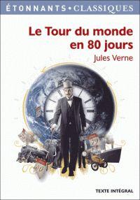 Jules Verne - Le Tour du monde en 80 jours. - Agrandir l'image