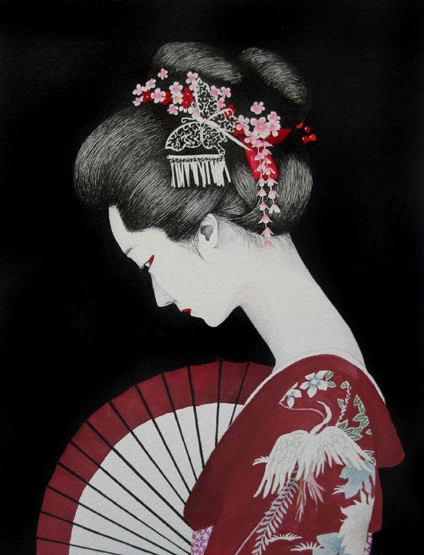Pin on geisha girl china