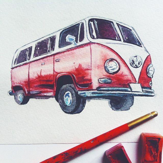 """Étude  Когда лень рисовать, думаю: ну ща че нить быстренькое. И на полтора часа... Потом все равно не довольна, но уже пора бежать. А через пару дней мозг подзабудет """"пот и кровь"""" и ничего, даже созерцнуть пару сек можно :) #иллюстрация #акварель #illustration #watercolor #fashionillustration"""