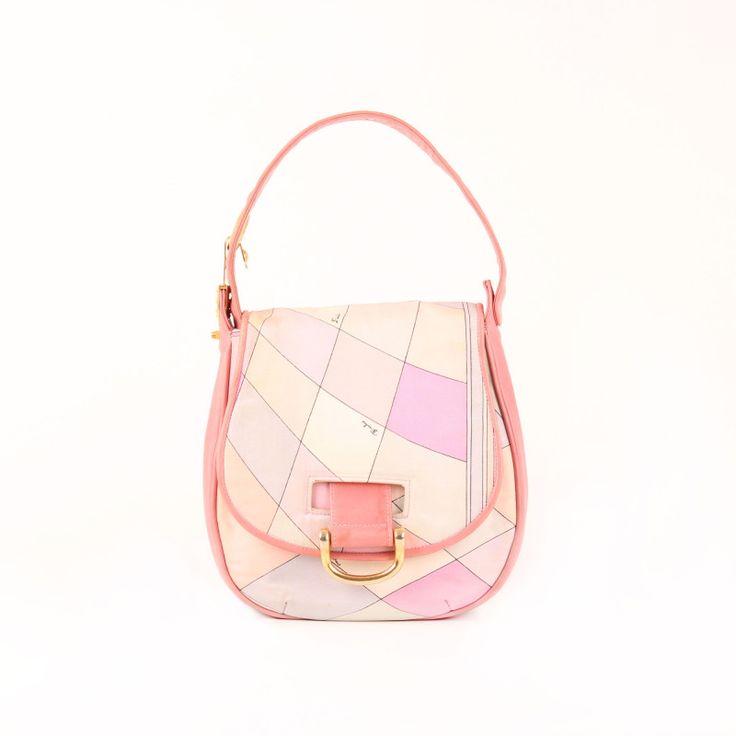 Emilio Pucci Vintage Silk Bag.