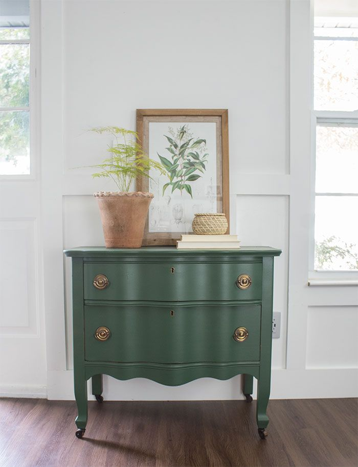 Painted Dresser Vintage Upcycle The Honeycomb Home Painted Dresser Vintage Furniture Vintage Dresser Makeover