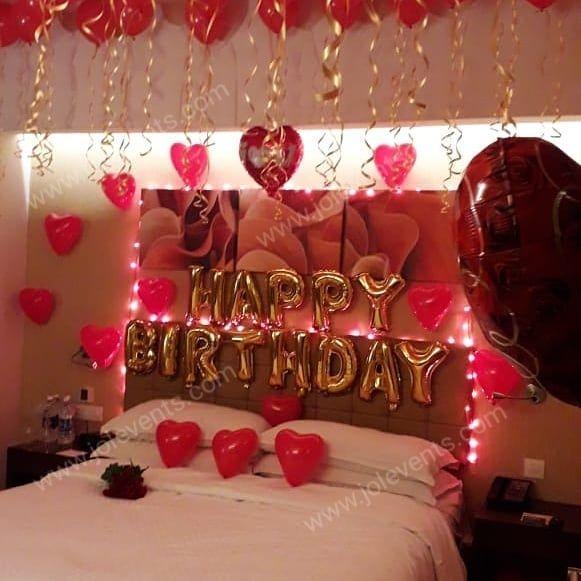 Pin On Romantic Room Decoration Pune Birthday Decoration