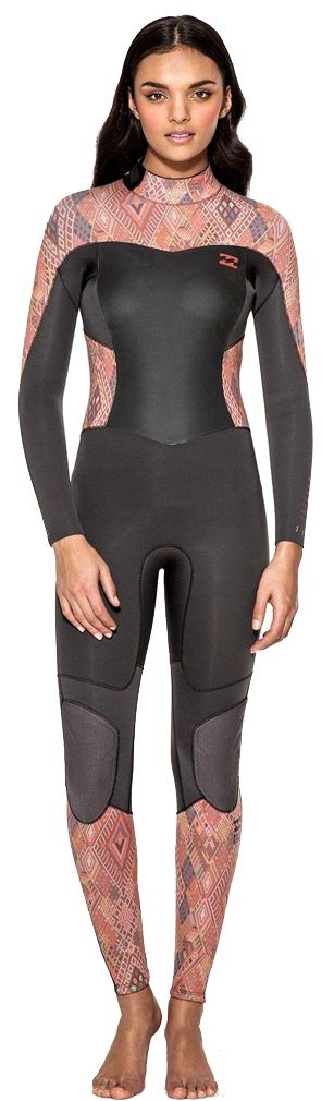 4/3mm Women's Billabong SYNERGY Full Wetsuit | Wetsuit Wearhouse