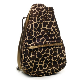 SlamGlam - Glove It Giraffe Tennis Backpack Bag  Great light weight tennis backpacks.  Pair it with other great accessories from Glove It.