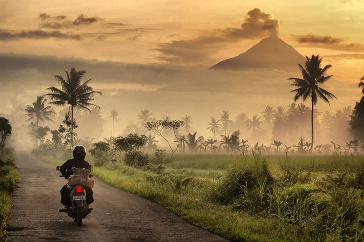 Magelang central Java - Indonesia  Early  morning by Muchamad Noor Eva A