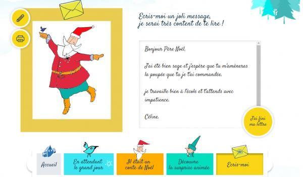 Comment envoyer une lettre gratuitement au secrétariat La Poste du Père Noël 2016