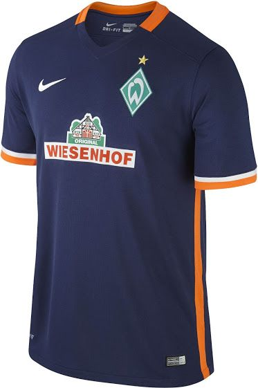 Werder Bremen 15-16 Away Kit Released - Footy Headlines