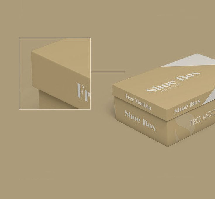 Download Download Free Shoe Box Mockups In Psd Box Mockup Psd Freebies Mockup Free Psd