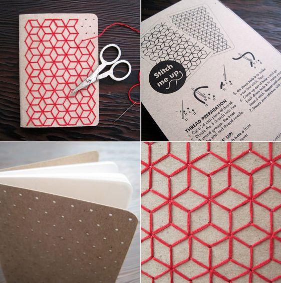Tapa bordada http://muymolon.com/2012/03/13/manualidades-costuriles-para-chicas-poco-amigas-de-la-aguja-como-yo/