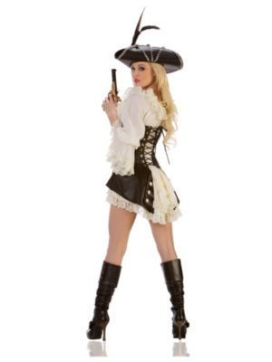 Sexy Rouge Pirate Costume | Sexy Pirate Halloween Costumes