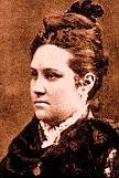 This is a picture of Virgina Maxwell Keyes, the sister of Paulita and Pete Maxwell and the daughter of Lucian Maxwell.