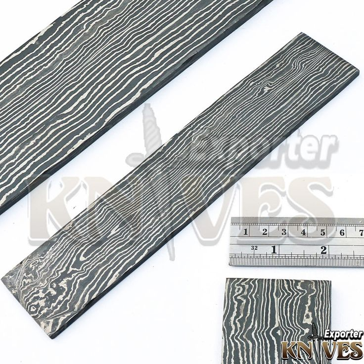 Andy Alm Custom Forged Damascus Straight Line Pattern Billet for Knife Making #AndyAlmKnivesExporter