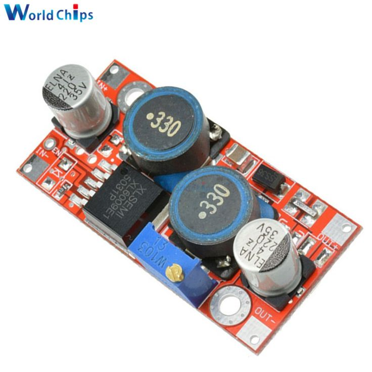 Free Shipping XL6009 DC-DC Step Up Step Down Boost Buck Power Supply Module 3.8-32V To 1.25-35V Voltage Regulator Converter //Price: $1.53//     #shop