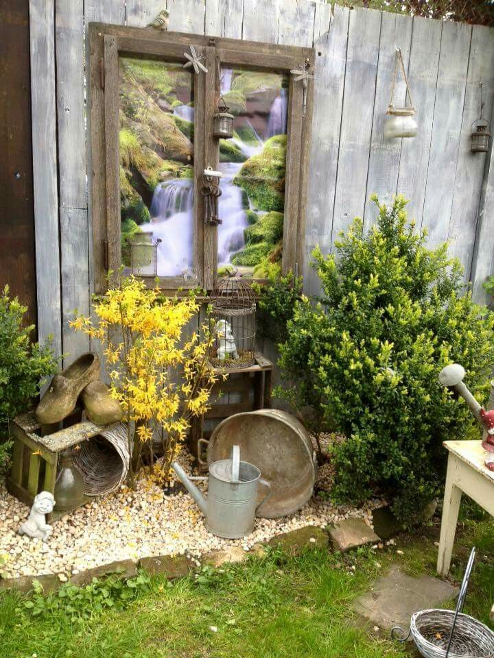 Garten deko – #Blumentopf #deko #Fahrrad #Garten #Geburtstag #Gl – tuinen